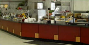 temporary kitchens and dining facilities