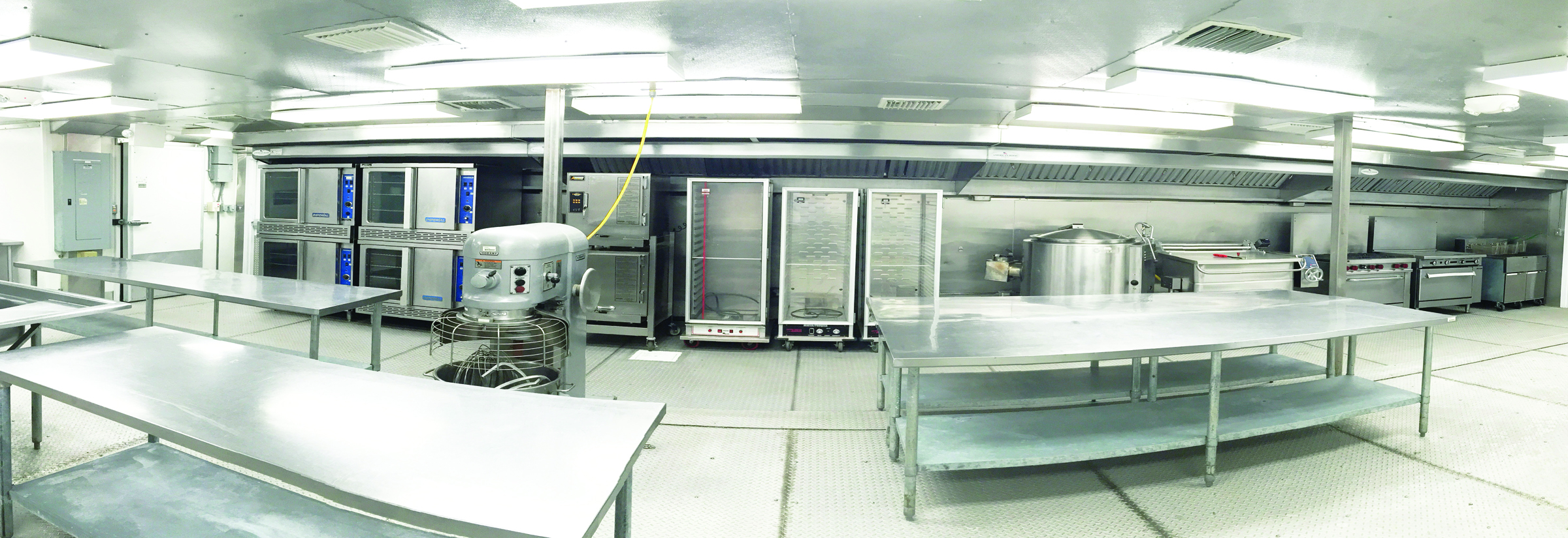 Temporary Kitchen Facility