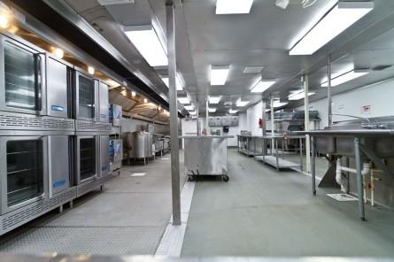 customized temporary kitchen equipment